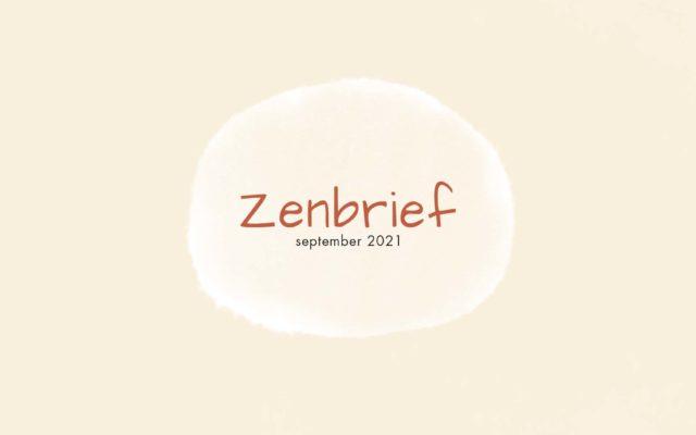 zenbrief september